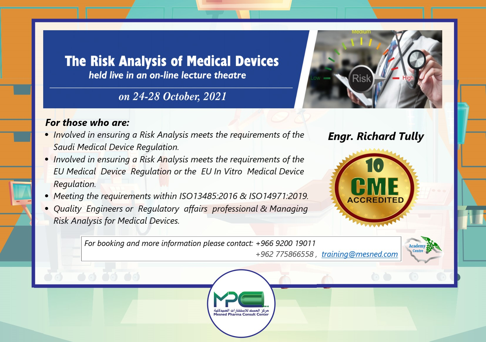 The Risk Analysis of Medical Devices